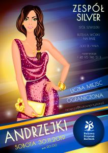 Andrzejki 2019 - Bukowa Przystań Barlinek - plakat