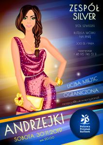 Andrzejki 2019 - Bukowa Przystań Barlinek - plakat mały