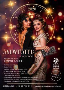 Sylwester 2019/2020 - Bukowa Przystań Barlinek - plakat