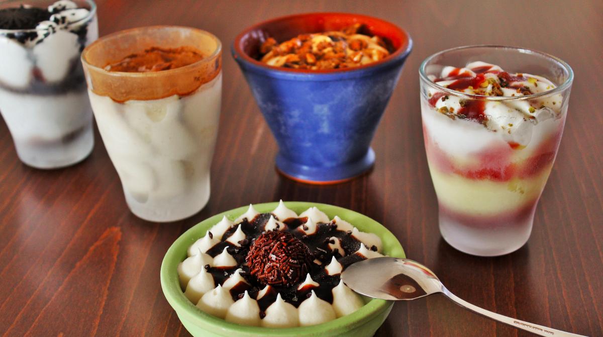 Lody - deser - restauracja Bukowa Przystań Barlinek