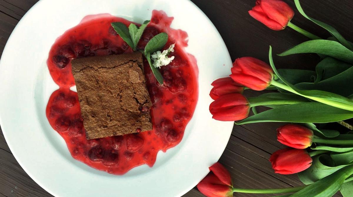 Zupa brownie - obiad - restauracja Bukowa Przystań Barlinek